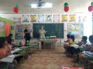 Teaching Invaluable Lessons in the Philippines